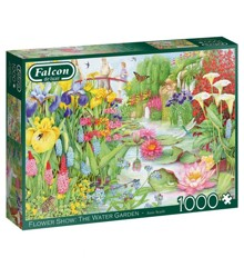 Falcon - Puzzle 1000 - Flower Show - The Water Garden (11282)