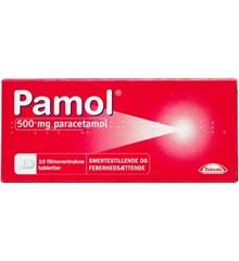 Pamol, 500 mg - 10 stk (523801)