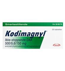 "Kodimagnyl - Ikke-stoppende ""DAK"", 500+9,6 mg - 10 stk. (534424)"