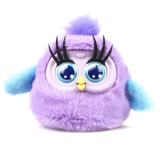 Silverlit - Fluffy Birds - Purple