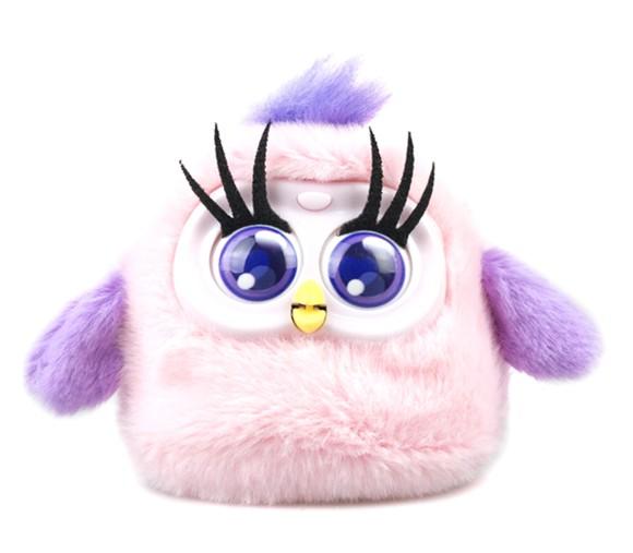 Silverlit - Fluffy Birds - Rosa