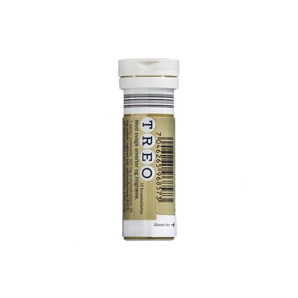 Treo - Brusetabletter, 500+50 mg - 10 stk (596857)