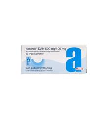 """Alminox """"DAK"""", 500 mg + 100 mg - 30 stk (069240)"""