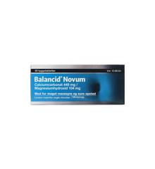 Balancid Novum, 449 mg + 104 mg - 30 stk (138604)