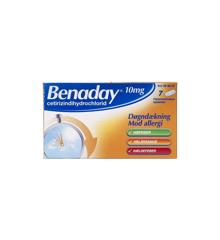 Benaday, 10 mg - 7 stk (006837)