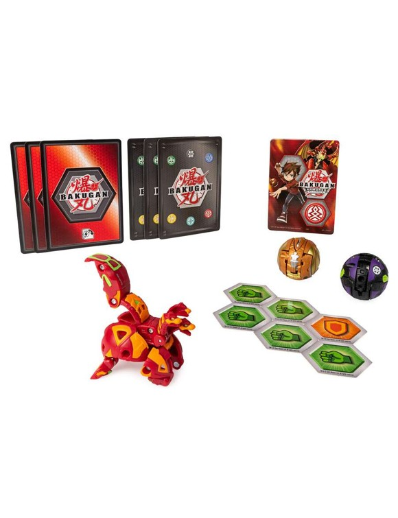 Bakugan - Starter Pack S2 - Howlkor Ultra, Dragonoid & Pegatrix