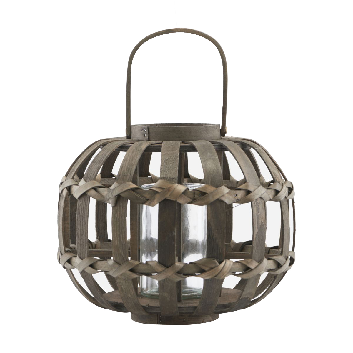 House Doctor - Knots Lantern Small - Dark Brown (Cd0801/210890801)