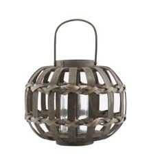 House Doctor - Knots Lantern Small - Dark Brown (Cd0801/210890801)