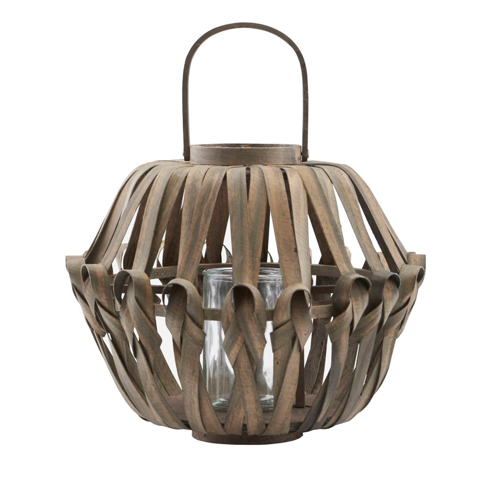 House Doctor - Knots Lantern Medium - Dark Brown (Cd0800/210890800)
