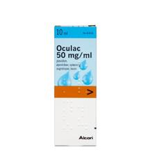 Oculac øjendråber, opløsning, 50 mg/ml - 10 ml (548563)