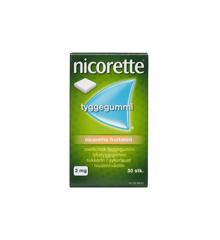 Nicorette - Fruitmint medicinsk tyggegummi, 4 mg -  30 stk. (029887)
