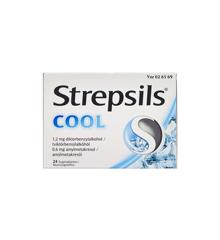 Strepsils - Cool sugetabletter, 0,6+1,2 mg - 24 stk. (026569)