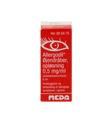 Allergodil - øjendråber, opløsning, 0,05% - 6 ml (000475)