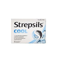 Strepsils - Cool sugetabletter, 0,6+1,2 mg - 36 stk. (062704)