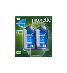Nicorette - Cooldrops sugetabletter, 4 mg - 80 stk (441312)