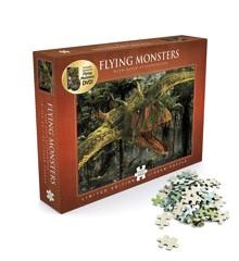 David Attenborough - Flying Monsters - Puslespil 1000 brikker + DVD