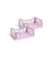 HAY - Colour Crate Kasse Medium Sæt á 2 - Lavender