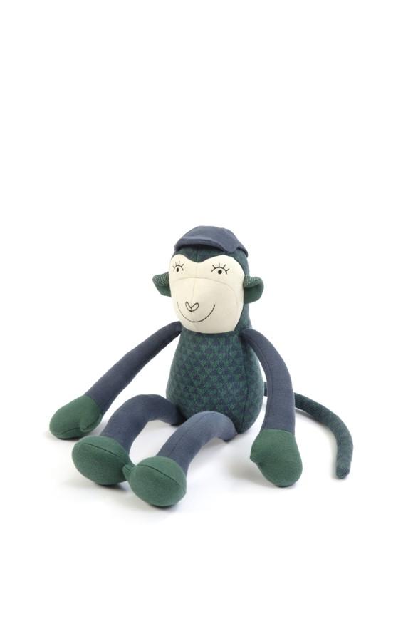Smallstuff -  Moneky Simon - Blue/ Green