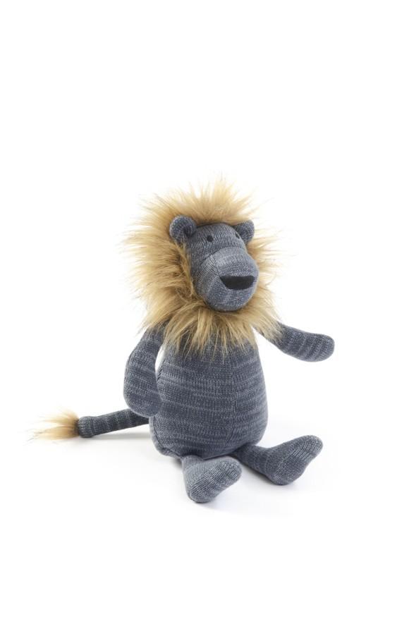 Smallstuff - Lion w. Soft Mane - Blue