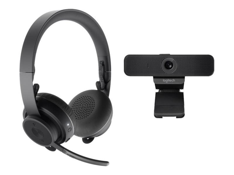 Buy Logitech Zone Wireless Bluetooth Headset C925e Webcam Graphite