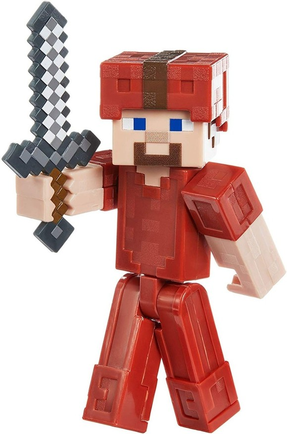 Minecraft - Comic Mode Figures 8 cm - Steve in Red Armor (GLC66)