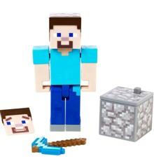 Minecraft - Comic Mode 8 cm Figur - Steve (GCC13)