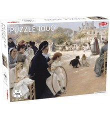 Tactic - Puzzle 1000 pc - Luxembourg Gardens