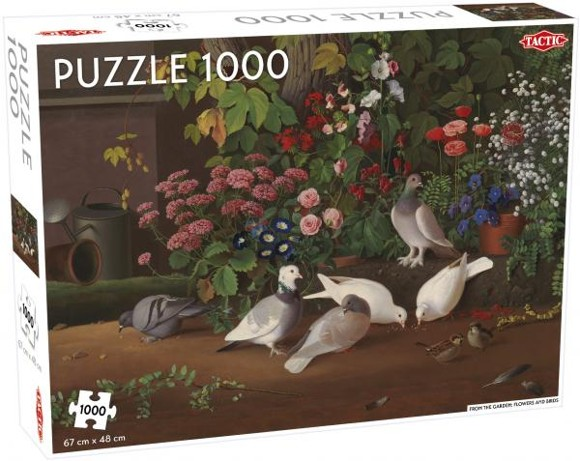 Tactic - Puzzle 1000 pc - Flowers and Birds