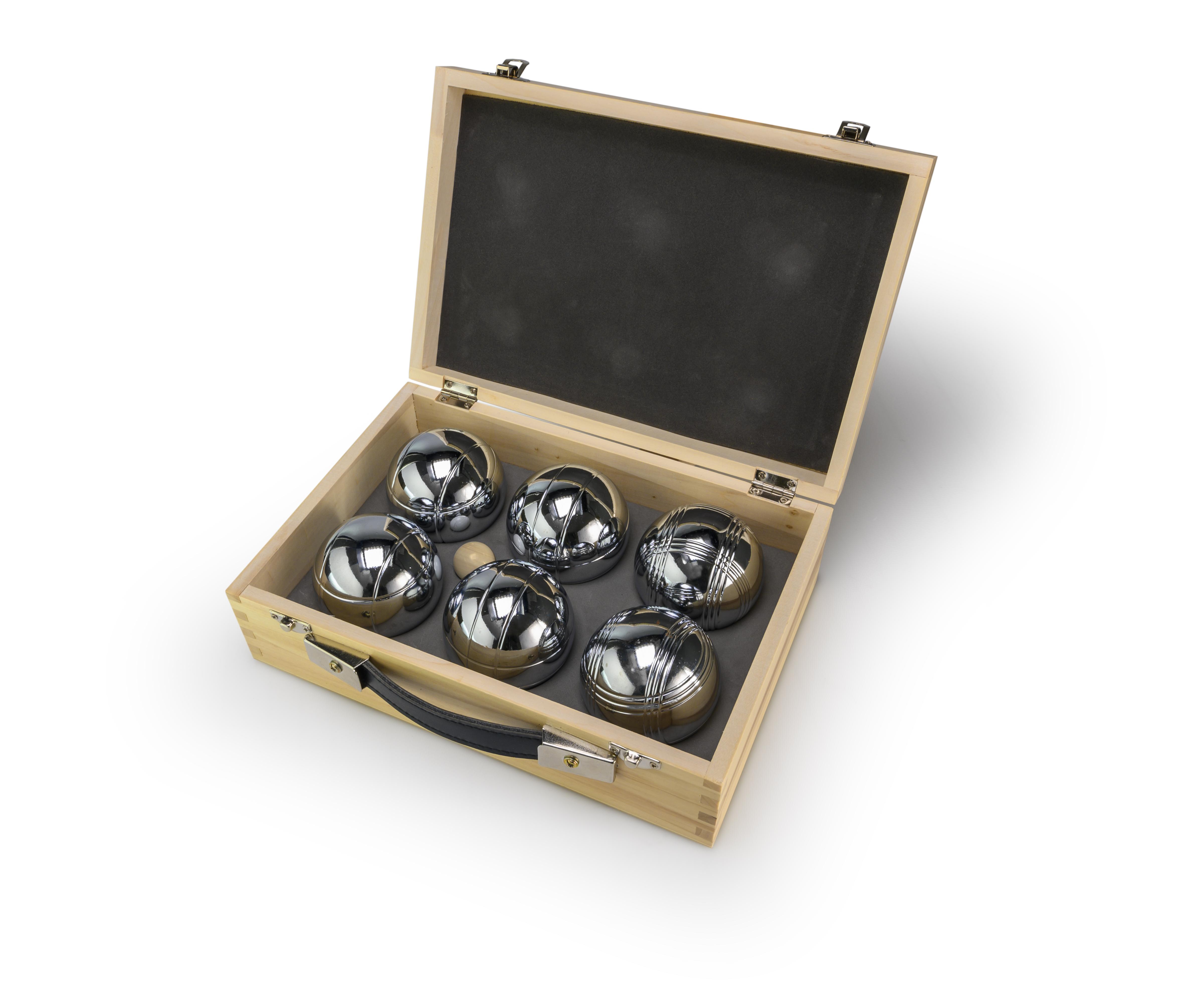 Tactic - Petanque in wooden box (56319)