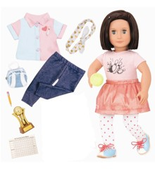 Our Generation - Evelyn Doll  with accessories (731165)