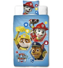 Bed Linen - Adult size 140 x 200 cm - Paw Patrol (PAW093)
