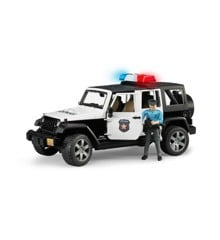 Bruder - Jeep Wrangler Rubicon Politibil med politimand (BR2526)
