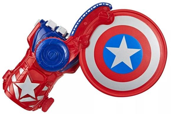 Avengers - NERF Power Moves - Captain America Shield Sling (E7375)