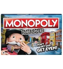Hasbro Gaming - Monopoly Sore Losers Edition (Dansk)