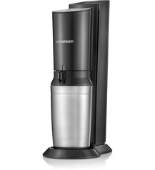 SodaStream - Soda Maker Crystal 2.0 2 bottles included - Black