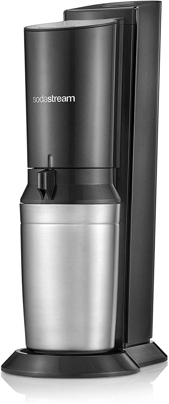 SodaStream - Soda Maker Crystal 2.0 2 bottles included - Black
