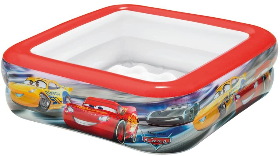 INTEX- Cars Play Box Pool (57101)