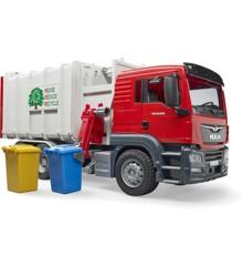 Bruder - MAN TGS Side loading grabage truck (BR3761)