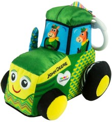 Lamaze - John Deere Traktor rangle i stof (27411)
