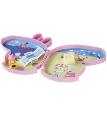 Peppa Pig - Pick Up and Play - Seaside Playset