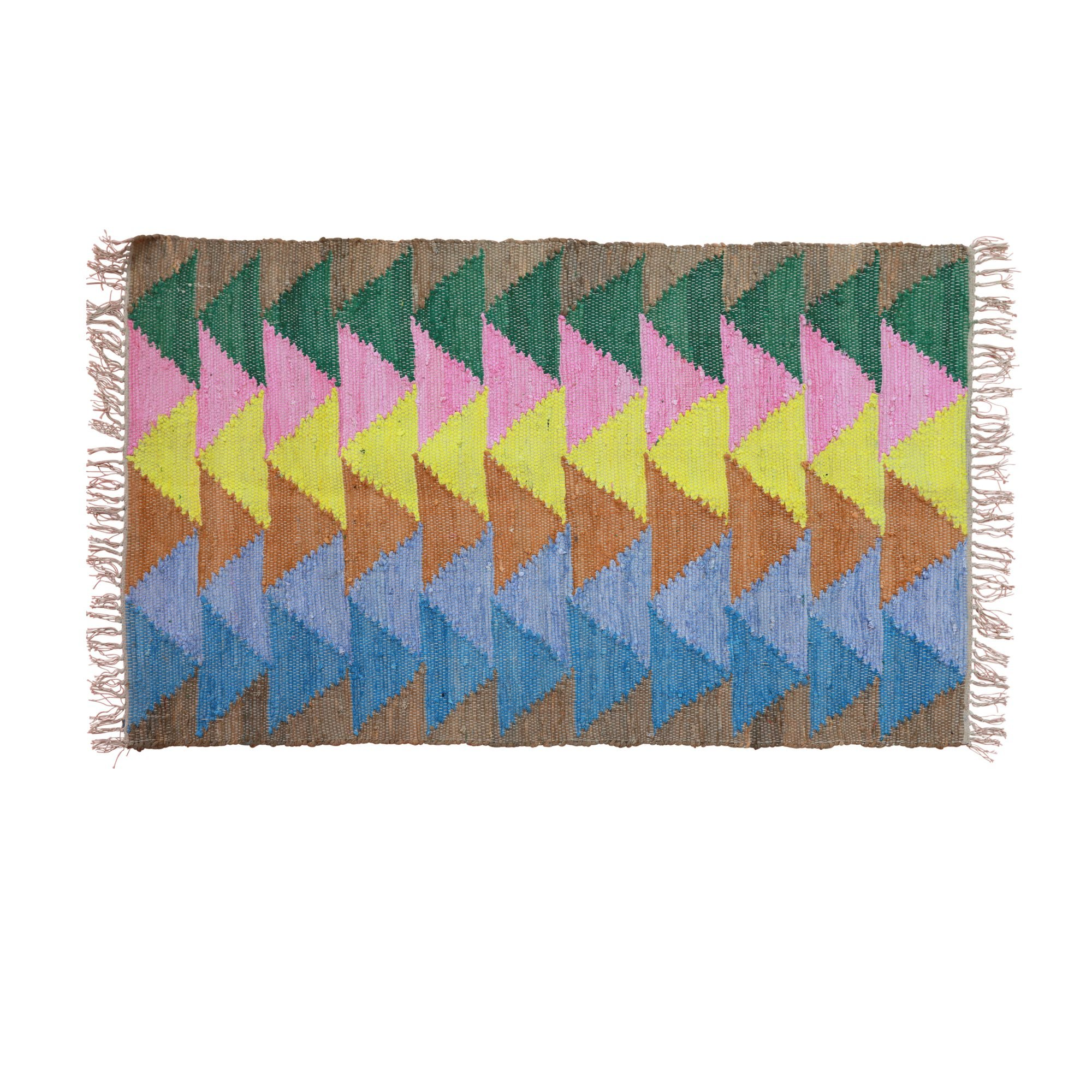 Rice - Handmade Cotton Runner w.
