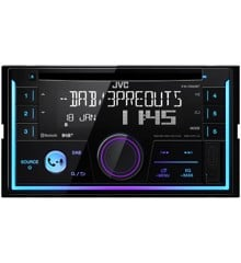 JVC - 2-DIN CD Receiver KW-DB93BT