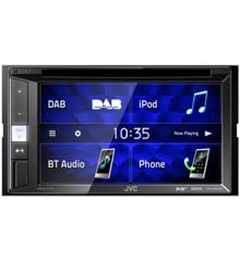 JVC - 2-DIN CD/DVD/USB Multimedia system KW-V255DBT