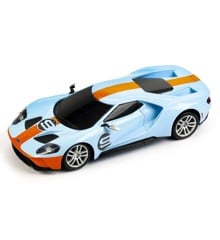 Maisto - Ford GT 1:24 Blue/Orange w. Motor Sound (144040)
