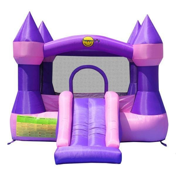 Happy Hop - Castle Bouncer with Slide (9017P)