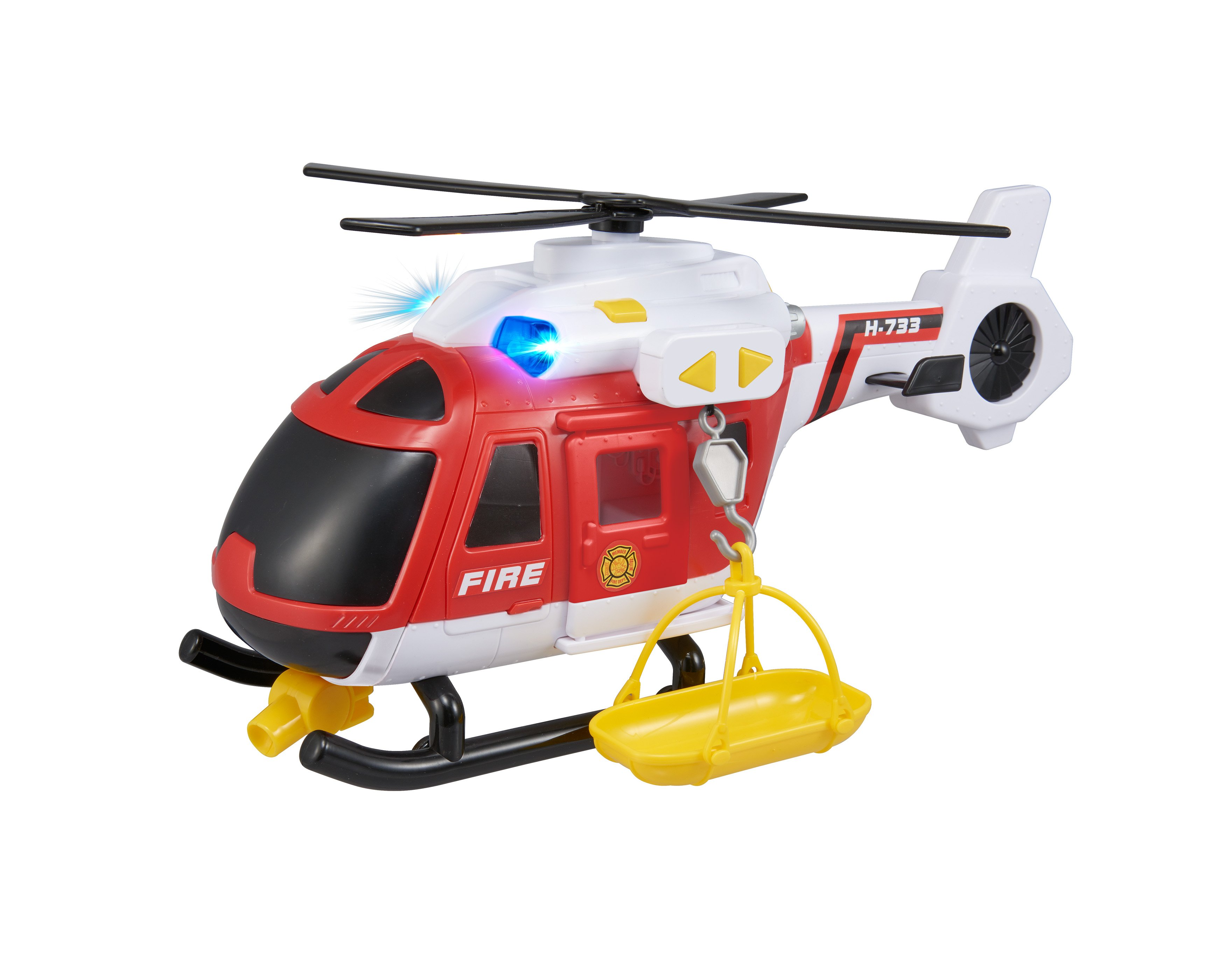 Teamsterz - Light and Sound Fire Helicopter (1416845)