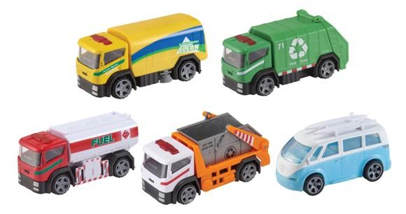 Teamsterz - City Trucks 5 Pack (1416907)