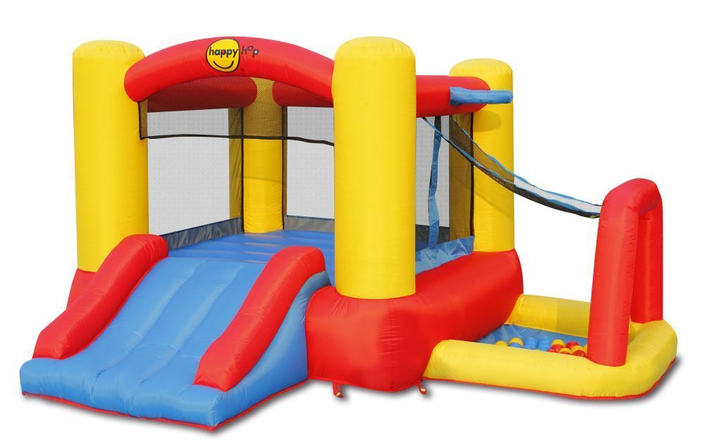 Happy Hop - 4-in-1 Inflatable Bouncy Castle Play Centre (9450)