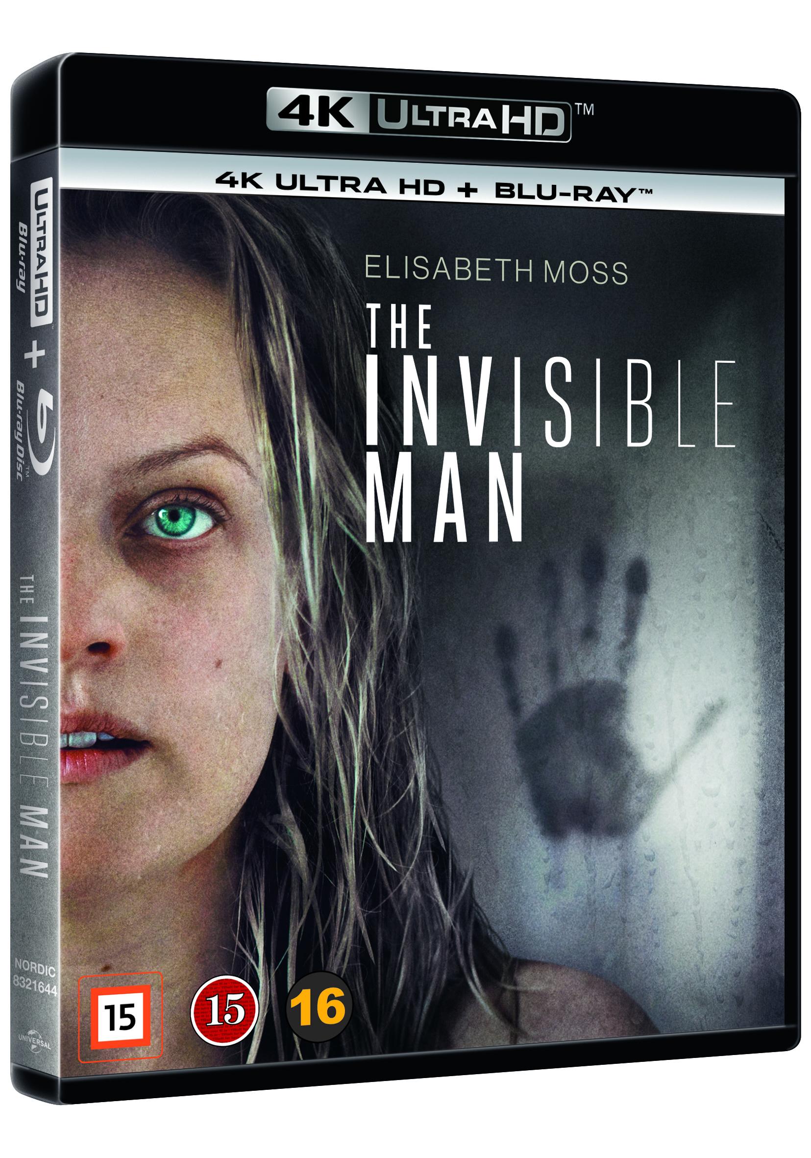 Invisible Man (2020), The - 4K Uhd+ Blu Ray