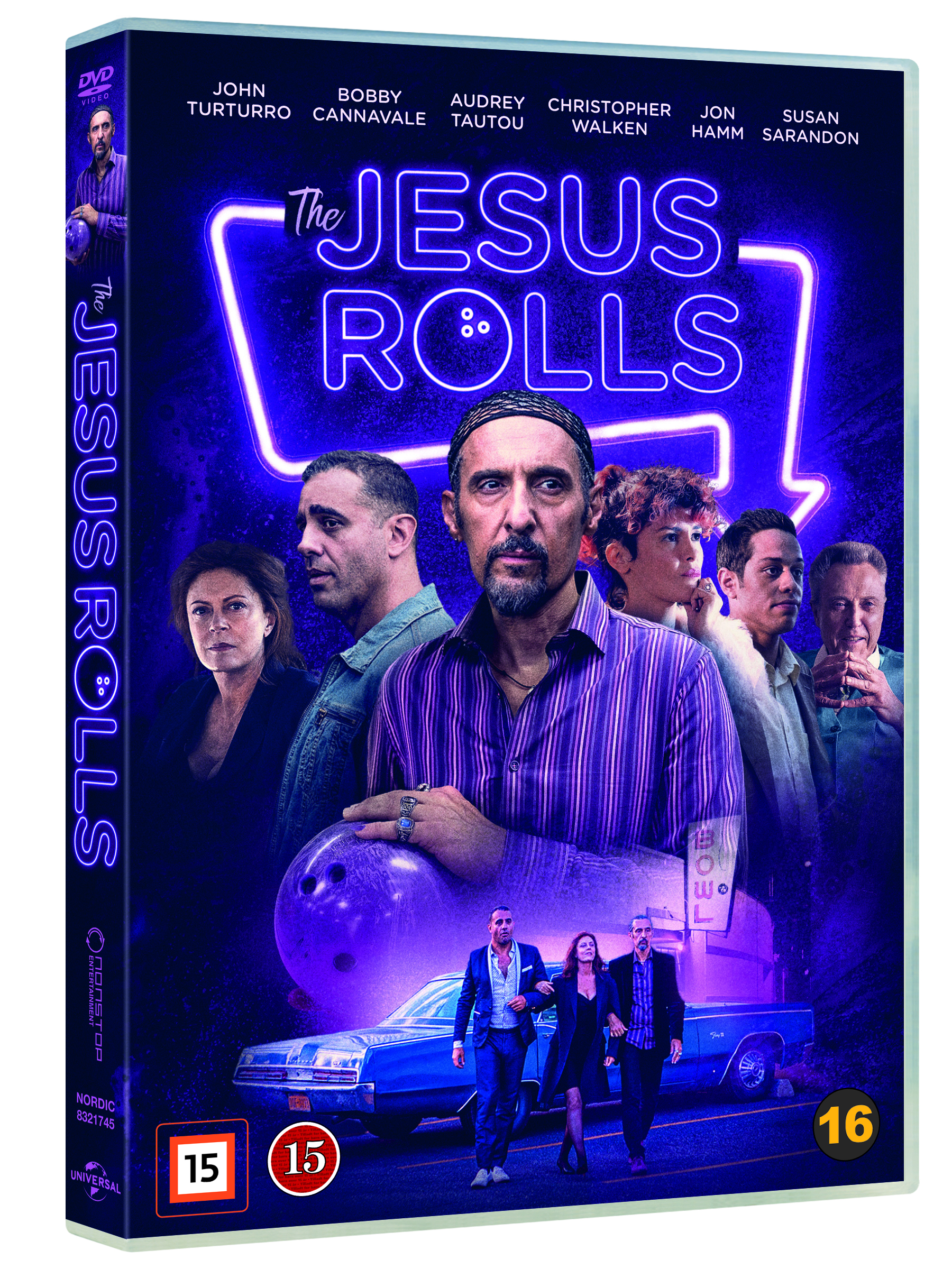 Jesus Rolls - Dvd